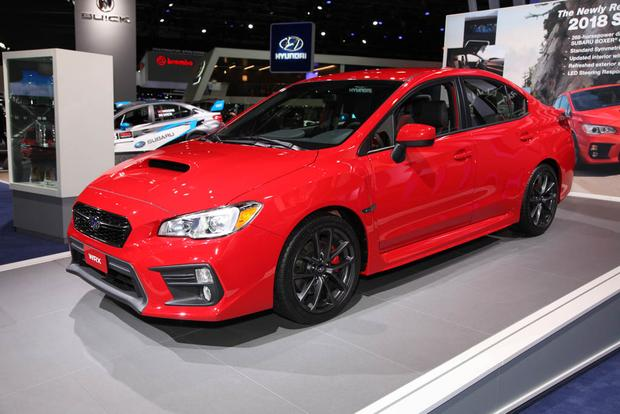 2018 subaru impreza wrx sti. exellent 2018 2018 subaru wrx and sti detroit auto show featured image large thumb1 with subaru impreza wrx sti