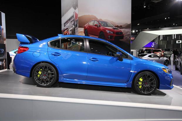 2018 Subaru WRX and WRX STI Detroit Auto Show  Autotrader