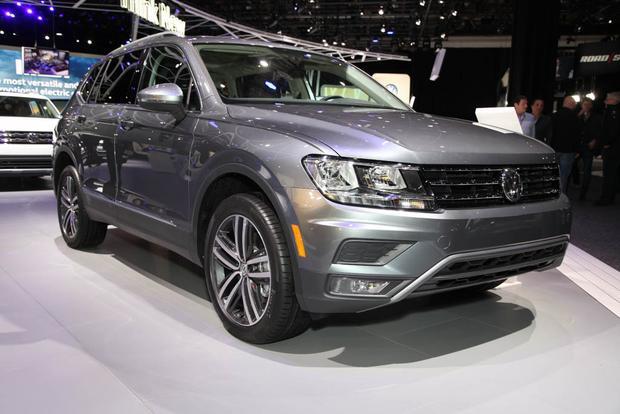 2018 Volkswagen Tiguan: Detroit Auto Show