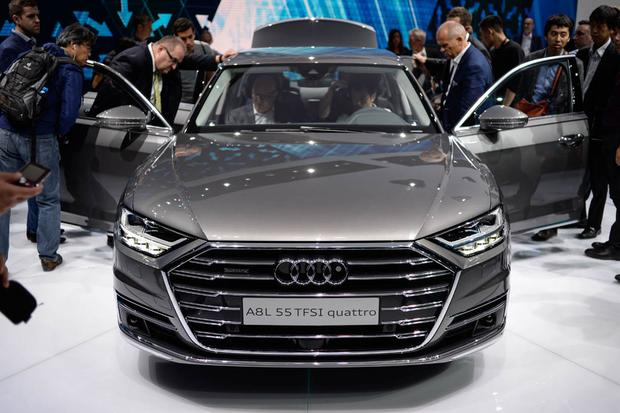 2019 Audi A8, Elaine and Aicon Autonomous Concepts: Frankfurt Auto Show featured image large thumb1