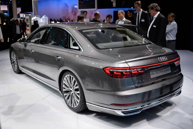 2019 Audi A8, Elaine and Aicon Autonomous Concepts: Frankfurt Auto Show featured image large thumb2