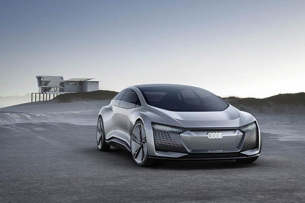 2019 Audi A8, Elaine and Aicon Autonomous Concepts: Frankfurt Auto Show featured image large thumb4