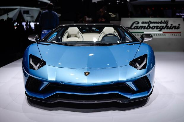 2018 lamborghini aventador roadster. contemporary 2018 2018 lamborghini aventador s roadster frankfurt auto show featured image  large thumb1 for lamborghini aventador roadster s