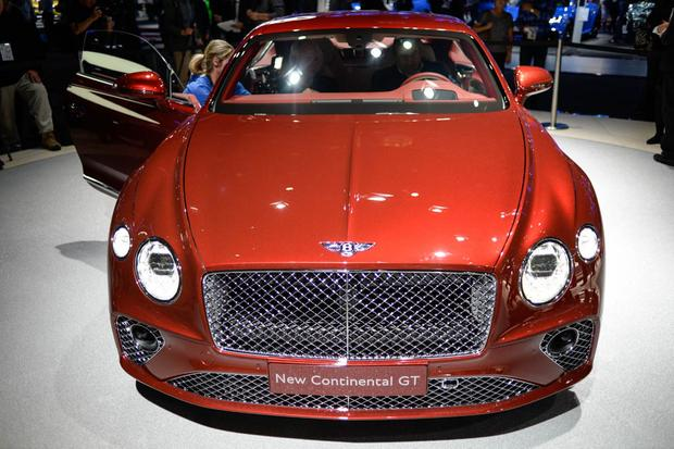2018 Bentley Continental GT: Frankfurt Auto Show featured image large thumb0