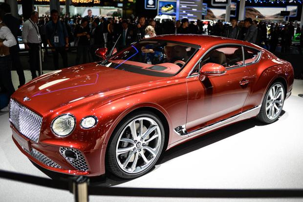 2018 Bentley Continental GT: Frankfurt Auto Show featured image large thumb1