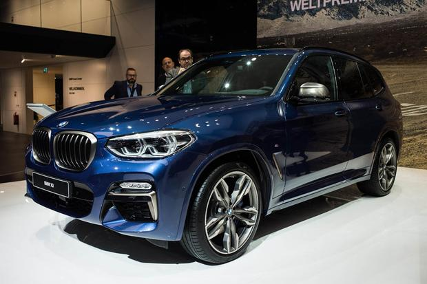 2018 BMW X3: Frankfurt Auto Show featured image large thumb0