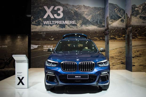2018 BMW X3: Frankfurt Auto Show featured image large thumb1