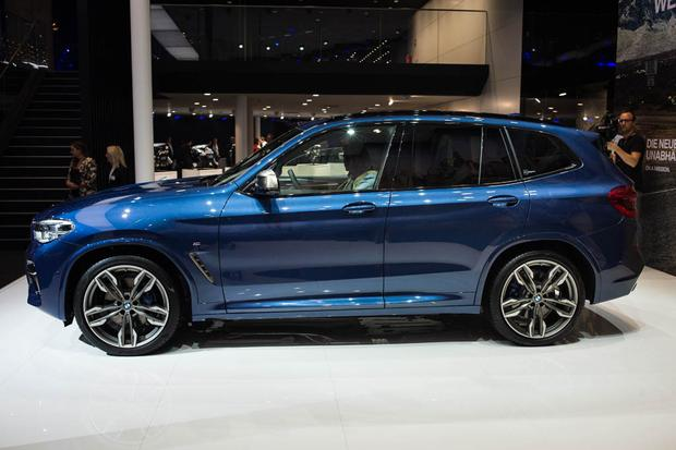 2018 BMW X3: Frankfurt Auto Show featured image large thumb2