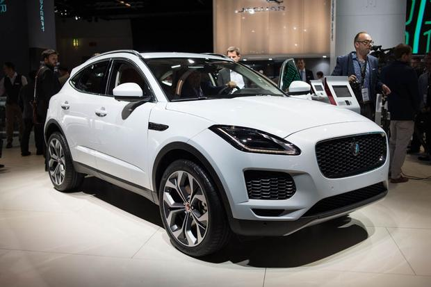 2018 Jaguar E-Pace: Frankfurt Auto Show featured image large thumb0