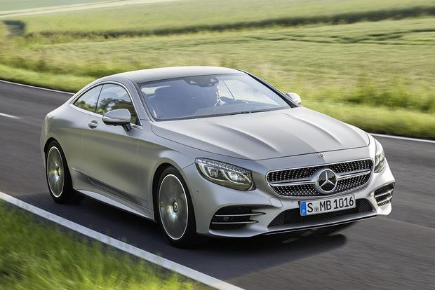 2018 Mercedes Benz S Cl Coupe And Cabriolet Plus Luxury Electric Vehicles