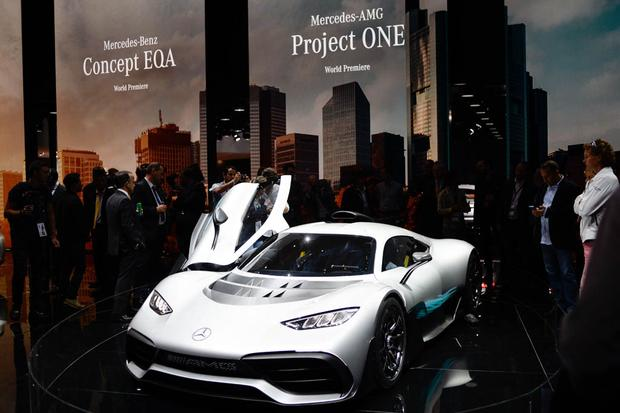 Mercedes-AMG Project One Concept: Frankfurt Auto Show featured image large thumb1