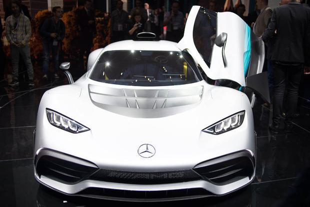 Mercedes-AMG Project One Concept: Frankfurt Auto Show featured image large thumb0