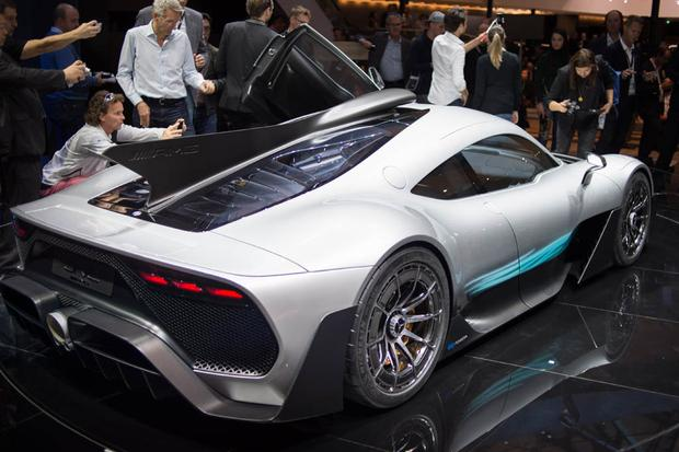 Mercedes-AMG Project One Concept: Frankfurt Auto Show featured image large thumb2