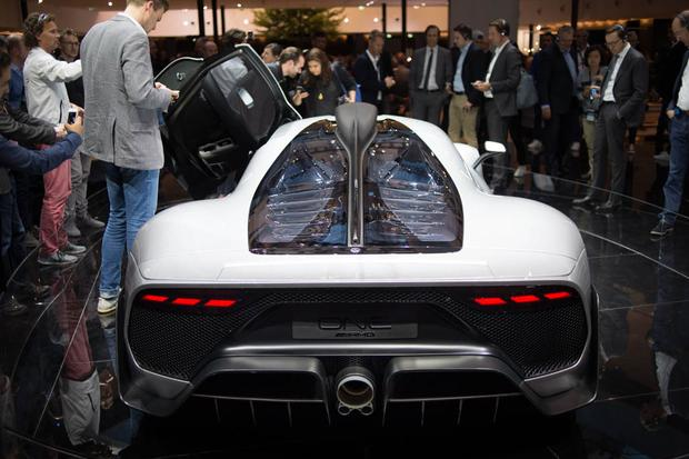 Mercedes-AMG Project One Concept: Frankfurt Auto Show featured image large thumb3