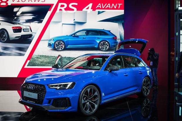 Audi RS 4 Avant: Frankfurt Auto Show featured image large thumb0