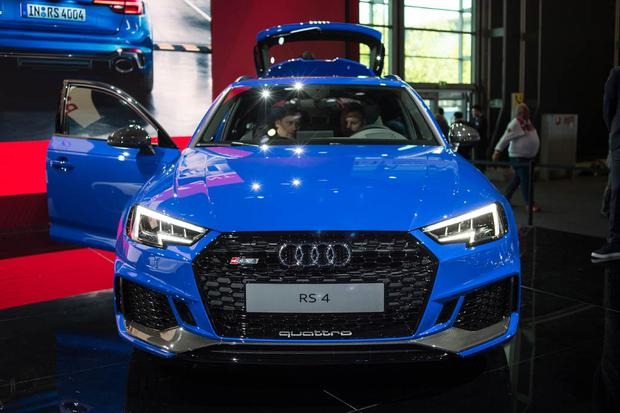 Audi RS 4 Avant: Frankfurt Auto Show featured image large thumb1