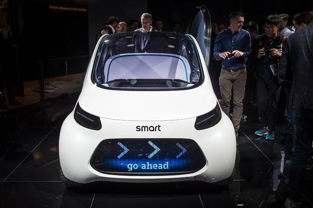 Smart Vision EQ Fortwo Concept: Frankfurt Auto Show featured image large thumb1