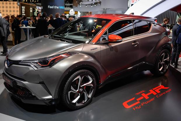 Toyota C-HR Hy-Power Concept: Frankfurt Auto Show featured image large thumb0