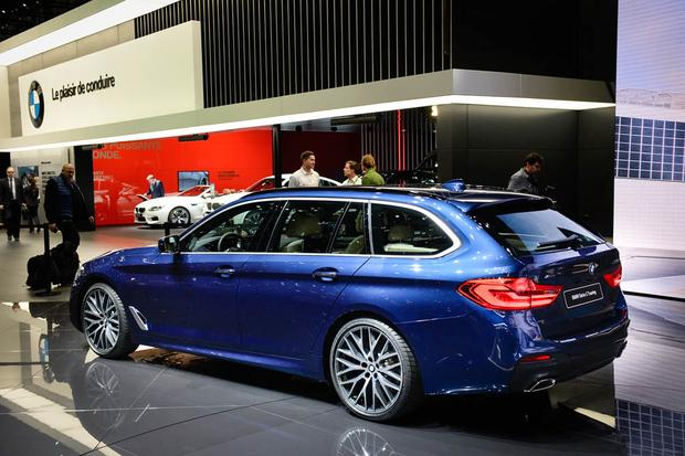 BMW 5 Series Touring: Geneva Auto Show featured image large thumb2