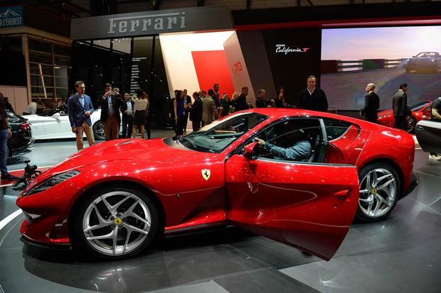 Ferrari 812 Superfast: Geneva Auto Show featured image large thumb1