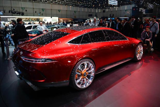 Mercedes-AMG GT Concept: Geneva Auto Show featured image large thumb2