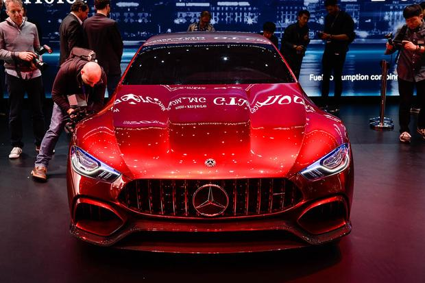 Mercedes-AMG GT Concept: Geneva Auto Show featured image large thumb4