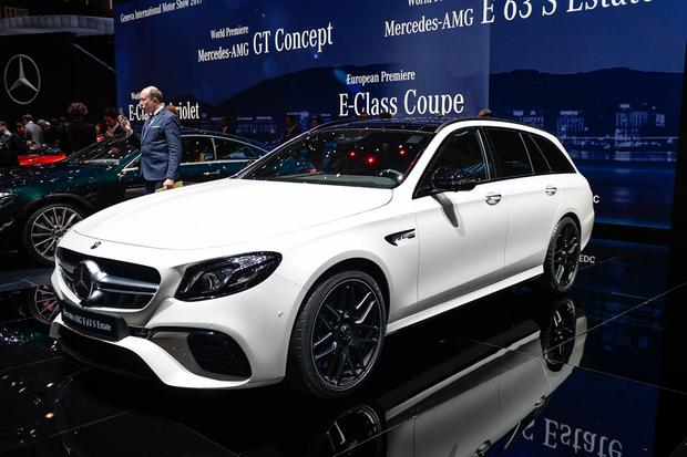 2018 Mercedes-AMG E63 S Wagon: Geneva Auto Show featured image large thumb0