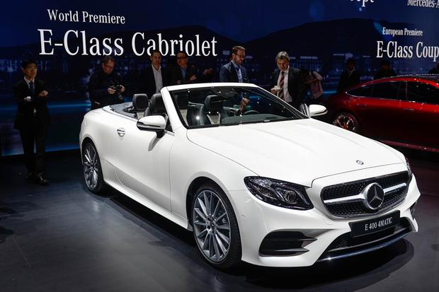 MercedesBenz EClass Reviews News Autotrader - Mercedes car show 2018
