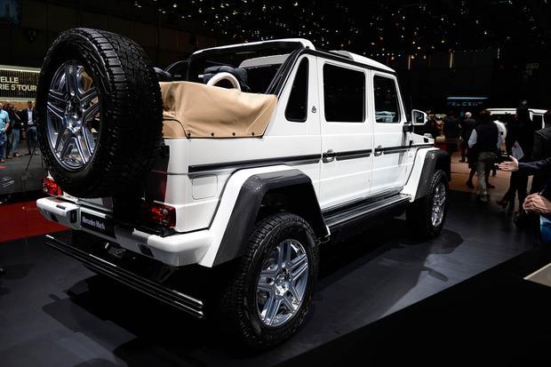 mercedes-maybach g650 landaulet: geneva auto show - autotrader