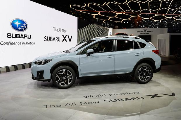 2018 subaru crosstrek silver. brilliant crosstrek auto show 2018 subaru crosstrek  throughout subaru crosstrek silver