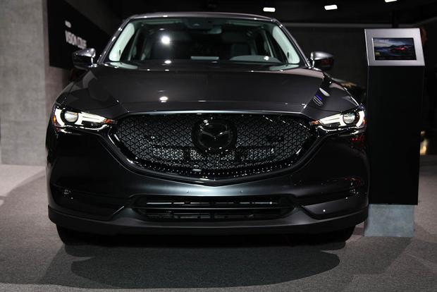 2018 Mazda6, 2018 Mazda CX-5, Mazda Vision Concept: LA ...