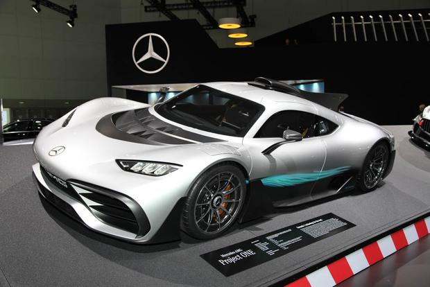 2019 Mercedes-Benz CLS-Class, Mercedes-AMG Project One, GLC F-Cell: LA Auto Show featured image large thumb11
