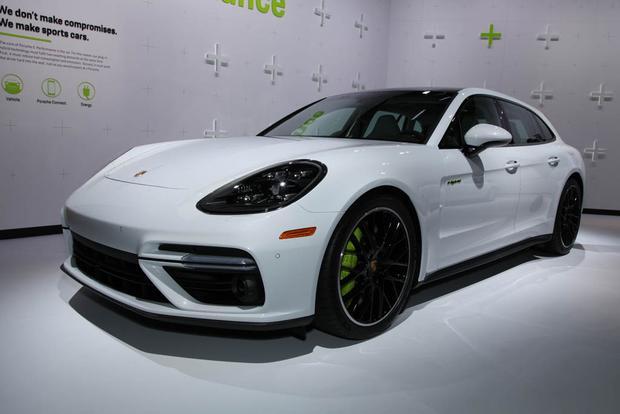 2018 Porsche Panamera Turbo S E-Hybrid Sport Turismo, 2018 Porsche 911 Carrera T: LA Auto Show featured image large thumb0