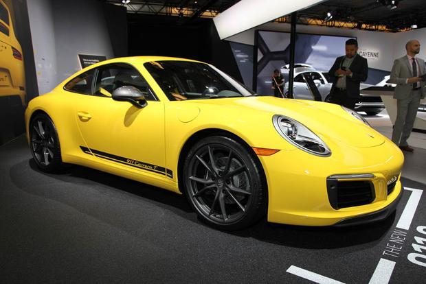 2018 Porsche Panamera Turbo S E-Hybrid Sport Turismo, 2018 Porsche 911 Carrera T: LA Auto Show featured image large thumb7