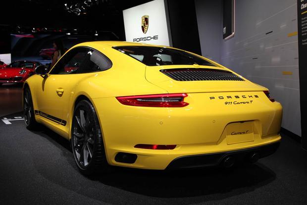 2018 Porsche Panamera Turbo S E-Hybrid Sport Turismo, 2018 Porsche 911 Carrera T: LA Auto Show featured image large thumb9