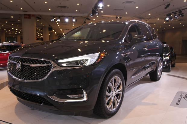 2018 Buick Enclave: New York Auto Show