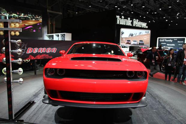 2018 Dodge Challenger SRT Demon: New York Auto Show