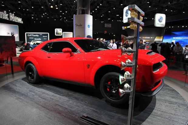 2018 Dodge Challenger Srt Demon New York Auto Show Autotrader
