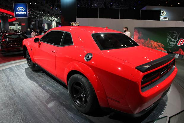 Dodge Challenger SRT Demon New York Auto Show Autotrader - Dodge car show 2018