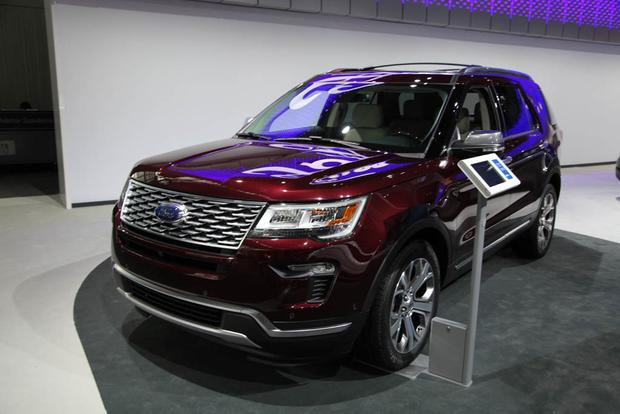 2018 Ford Explorer New York Auto Show Autotrader