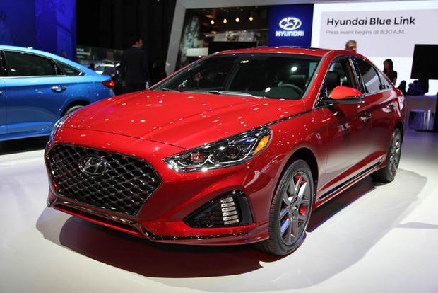 2018 Hyundai Sonata New York Auto Show Autotrader