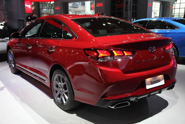 2018 hyundai sonata. brilliant sonata 2018 hyundai sonata new york auto show featured image large thumb1 and hyundai sonata