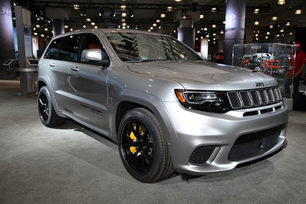 Jeep Grand Cherokee Trackhawk New York Auto Show Autotrader - Car show nyc 2018