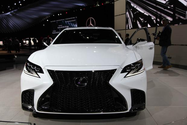 2018 lexus paint colors. fine colors 2018 lexus ls 500 f sport new york auto show featured image large thumb0 to lexus paint colors