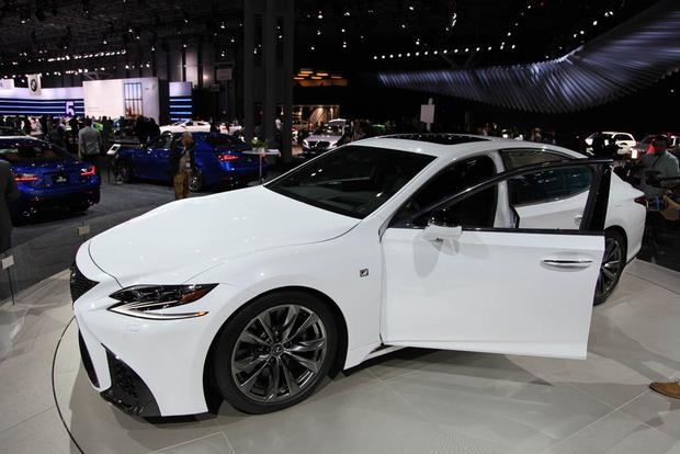 2018 lexus 500 ls. simple lexus 2018 lexus ls 500 f sport new york auto show featured image large thumb1 in lexus ls