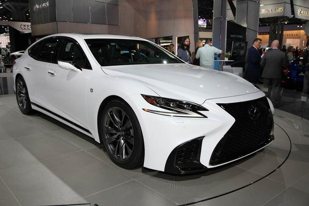 2018 lexus paint colors. fine colors 2018 lexus ls 500 f sport new york auto show featured image large thumb3 to lexus paint colors