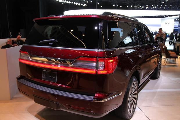 2018 lincoln navigator. fine navigator 2018 lincoln navigator new york auto show featured image large thumb2 and lincoln navigator
