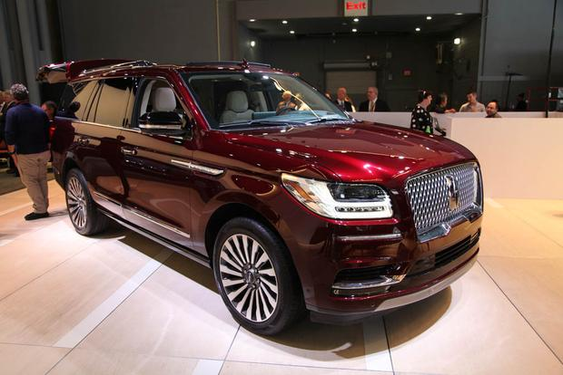 Lincoln Navigator New York Auto Show Autotrader - Lincoln car show