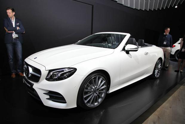 2018 Mercedes-Benz E-Class Cabriolet and New AMG GLC: New York Auto Show featured image large thumb1