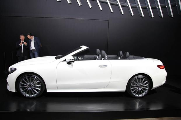 2018 Mercedes-Benz E-Class Cabriolet and New AMG GLC: New York Auto Show featured image large thumb2